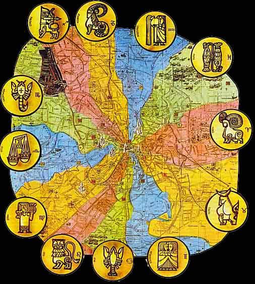 Карта Л.Саванской