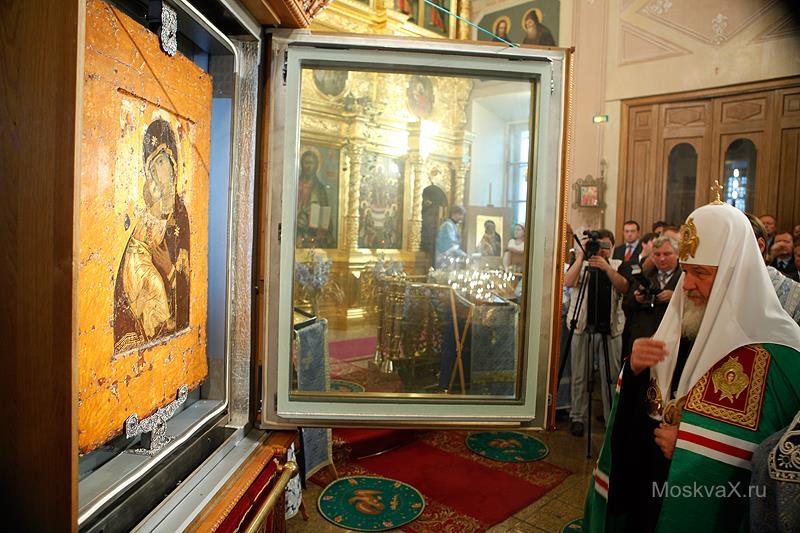Чудотворная икона Владимирская