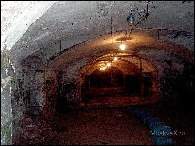 подземелья Сухаревой башни