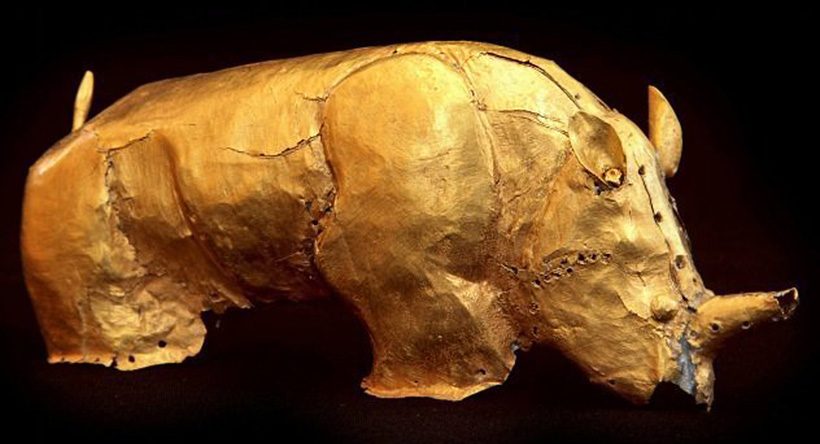 Золотой носорог Мапунгубве