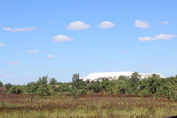 Белая гора под Воскресенском