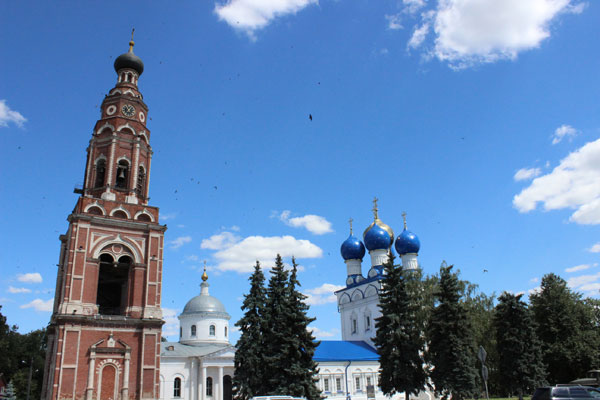 дорога на Воскресенск