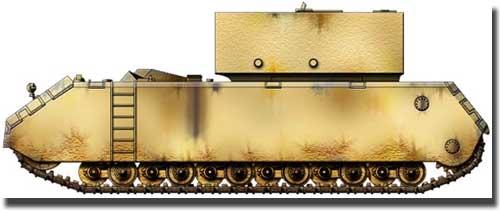 Проект танка 205 V1