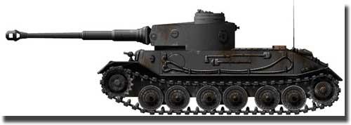 Прототип танка - VK.4501(P)