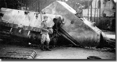 Подготовка танка к эвакуации